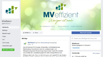 Neue Facebook-Seite online