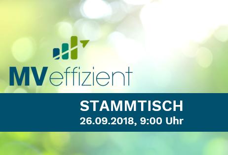 MVeffizient-Stammtisch im Speicher Hotel in Schwerin