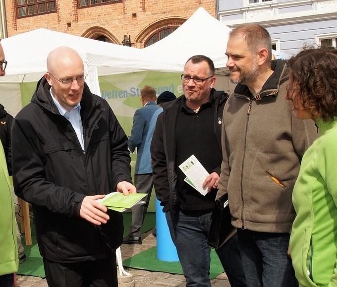 Erneuerbare Energien zum Anfassen – Treffen  Sie uns in Stralsund