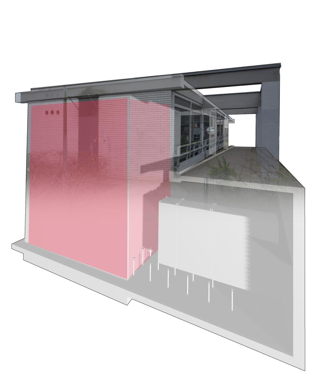 BU: Darstellung eines Pilotprojektes im Wohnquartier im Bottroper Weg in Berlin mit 2,4 MWh (Foto: Lumenion GmbH)