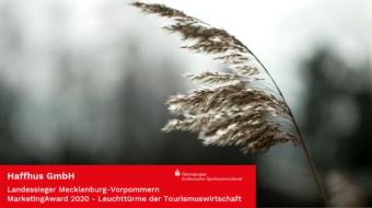 """Haffhus ist """"Leuchtturm der Tourismuswirtschaft"""""""