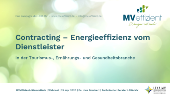 MVeffizient-Webcast Tapetenwechsel – Heute: Contracting