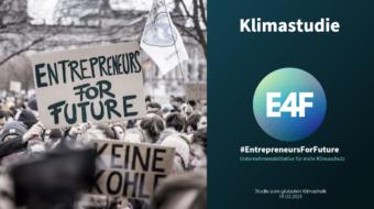 Neue Studie zeigt: Unternehmen wollen mehr Klimaschutz