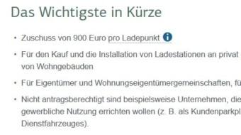 Weitere 300 Millionen Euro für die Installation privater Ladestationen